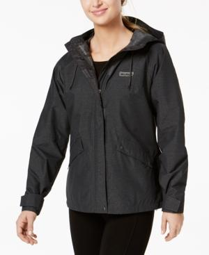 Celilo Falls Waterproof Rain Jacket In Shark Melange