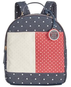 97aff37eec Tommy Hilfiger Flag Bandana Small Backpack In Navy/Multi | ModeSens