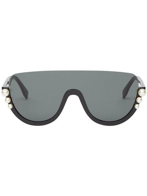 7be30eab77c FENDI. Fendi Ribbons And Pearls Sunglasses ...