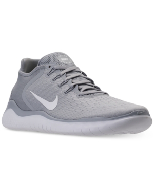 Nike Men's Free RN 2018 Running Shoes GreyWhite