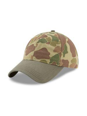 New Era Camouflage Cotton Baseball Cap In Green
