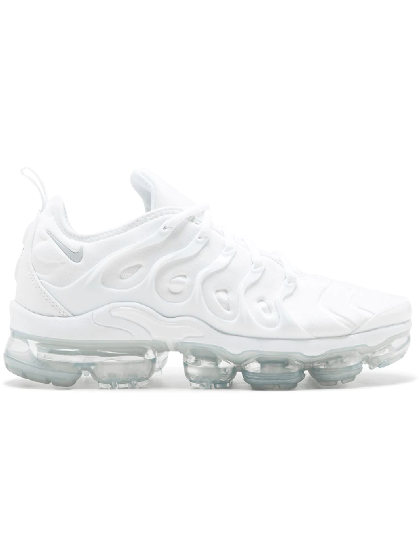 2fad6b46a18 Nike Air Vapormax Plus Neoprene And Rubber Sneakers In White