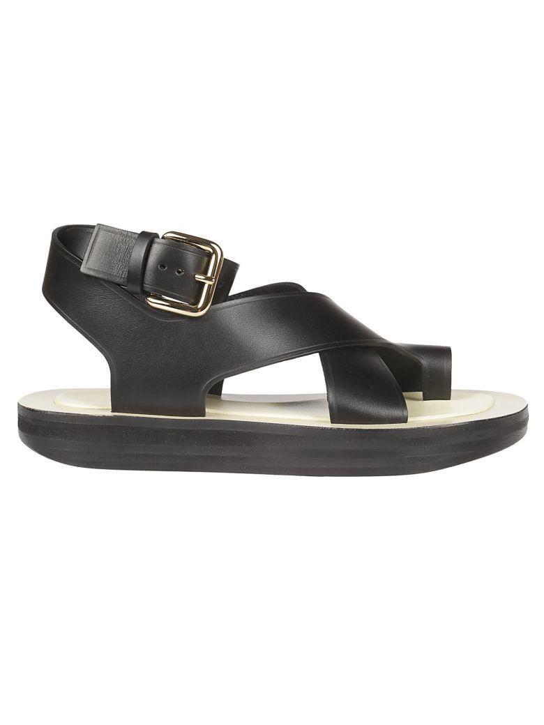 Strap Platform Cross Sandals 80pnwkxo Blackmodesens In Celine Kw0p8no hQtdCsr