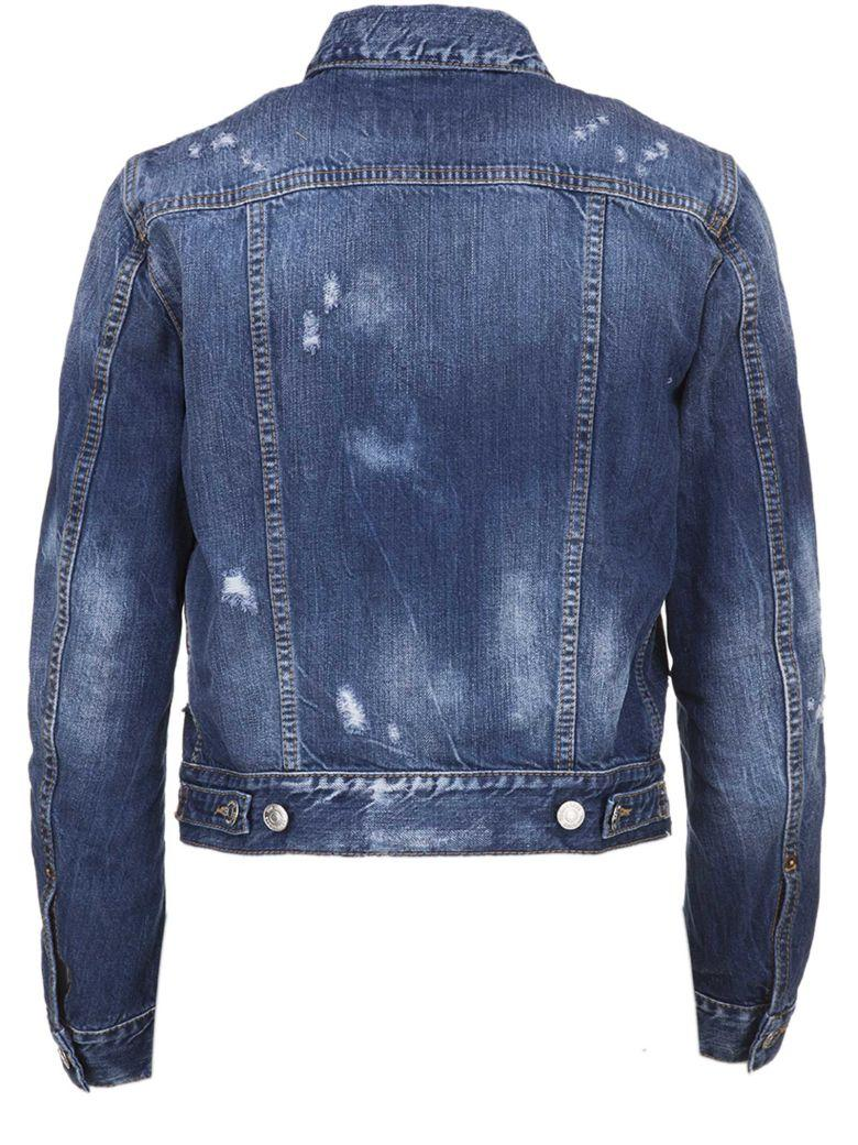 Dsquared2 Jacket In Blue