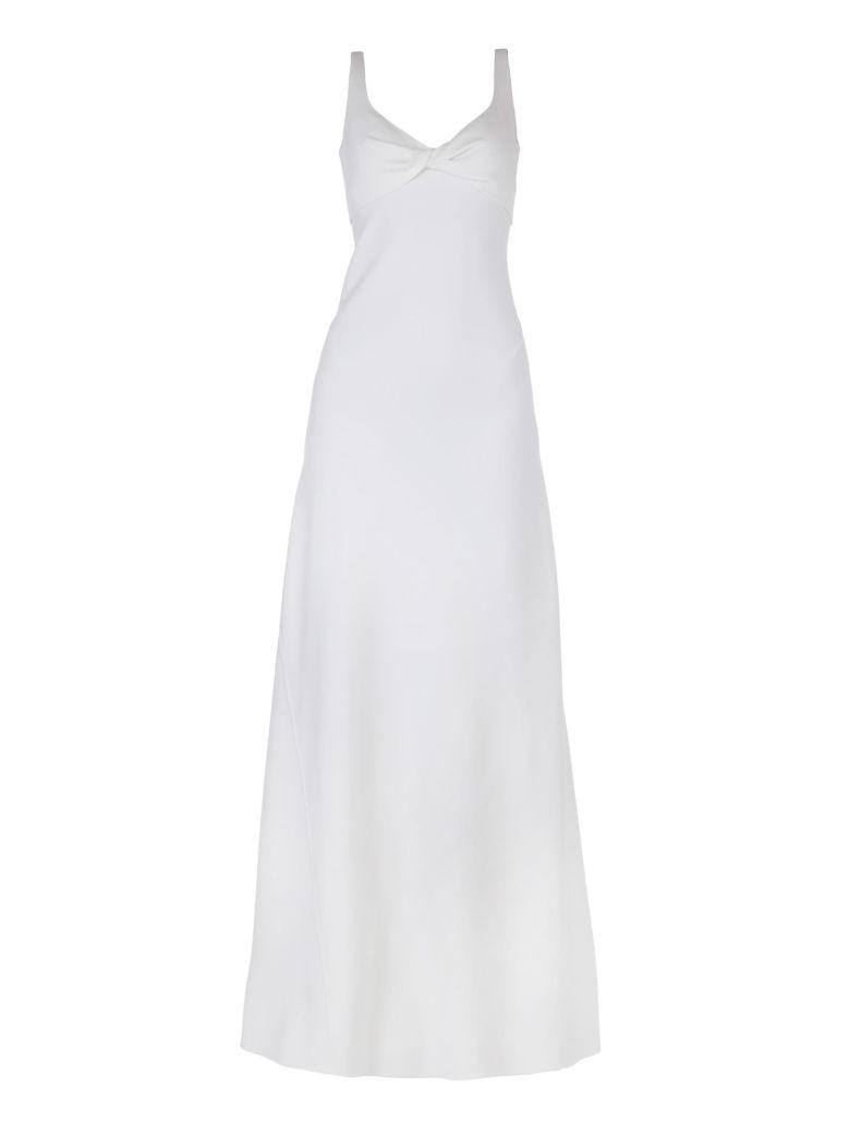 Dsquared2 Wool Dress In White
