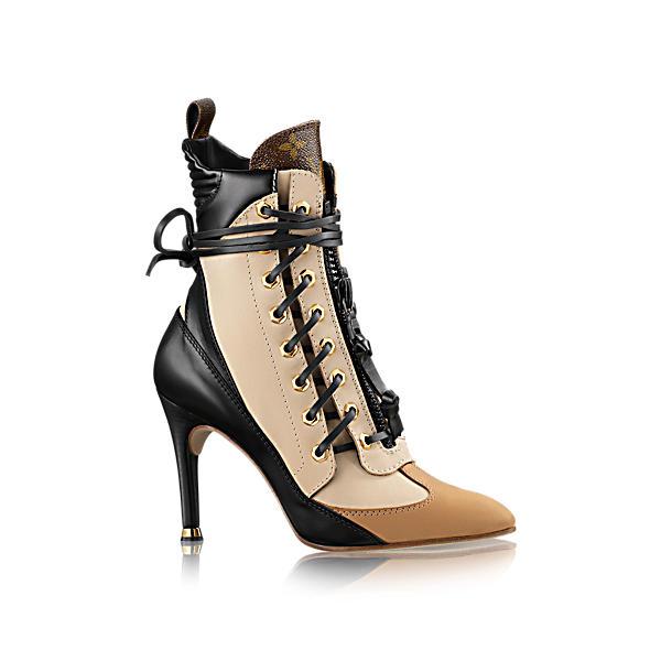 bdc3ba7f84e1 Louis Vuitton Laureate Half Boot In Beige