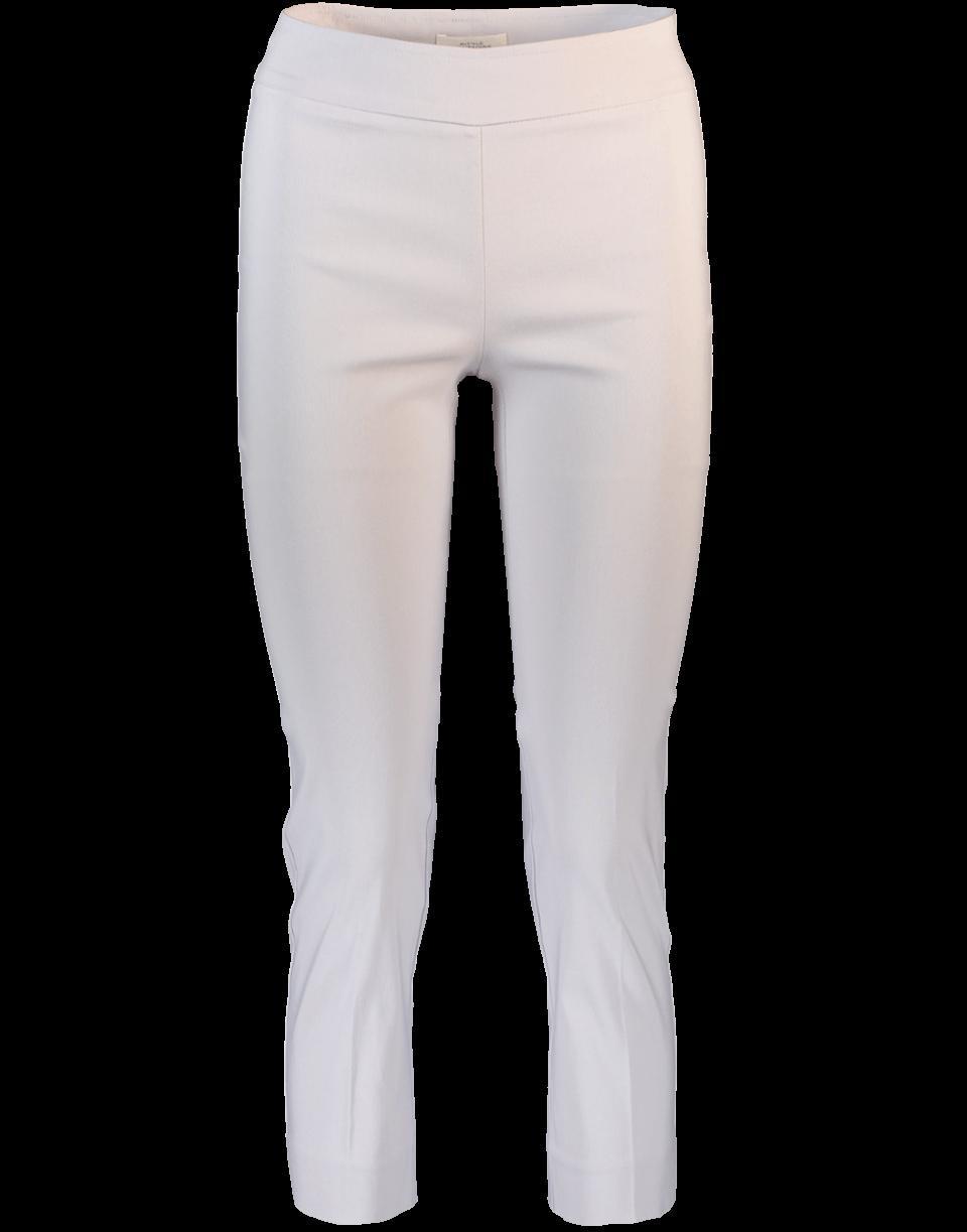 Avenue Montaigne Straight Leg Pant In Silver