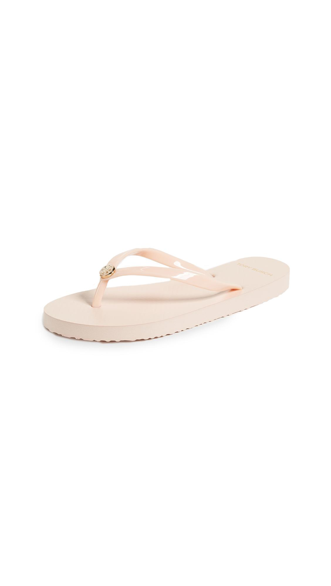 5f094cc44c79 Tory Burch Solid Thin Flip Flops In Perfect Blush