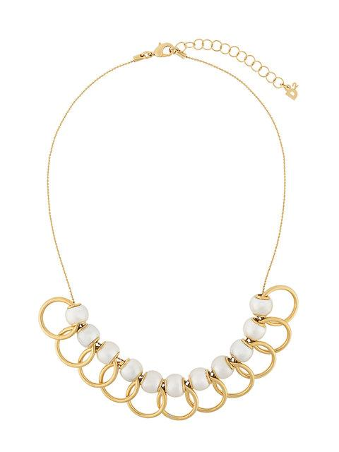 Dsquared2 Overlapping Hoop Necklace