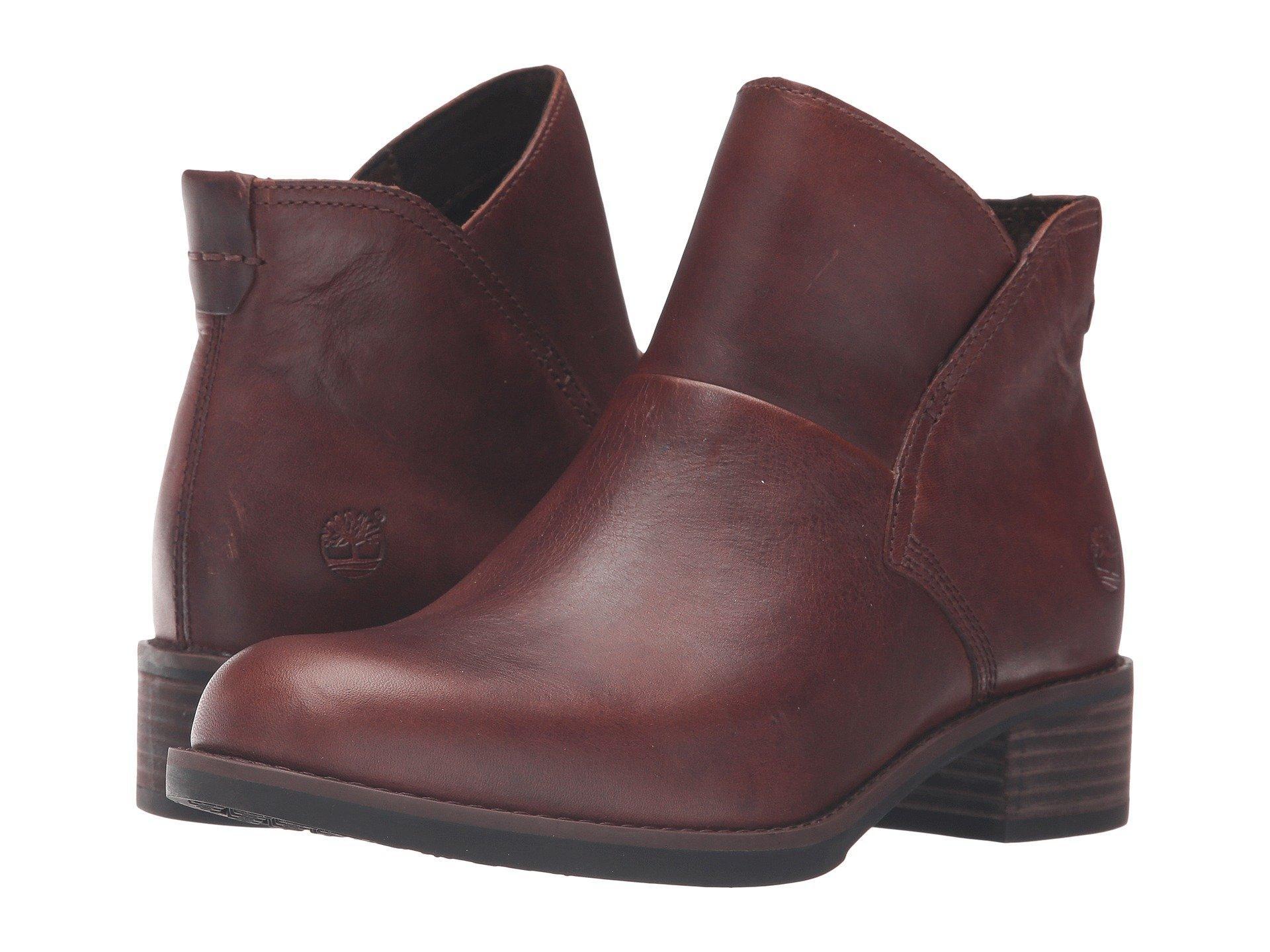 Beckwith Side Zip Chelsea Boot, Medium Brown Full Grain
