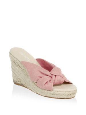 90235444bab5 Soludos Espadrille Wedge Sandal In Dusty Rose Fabric