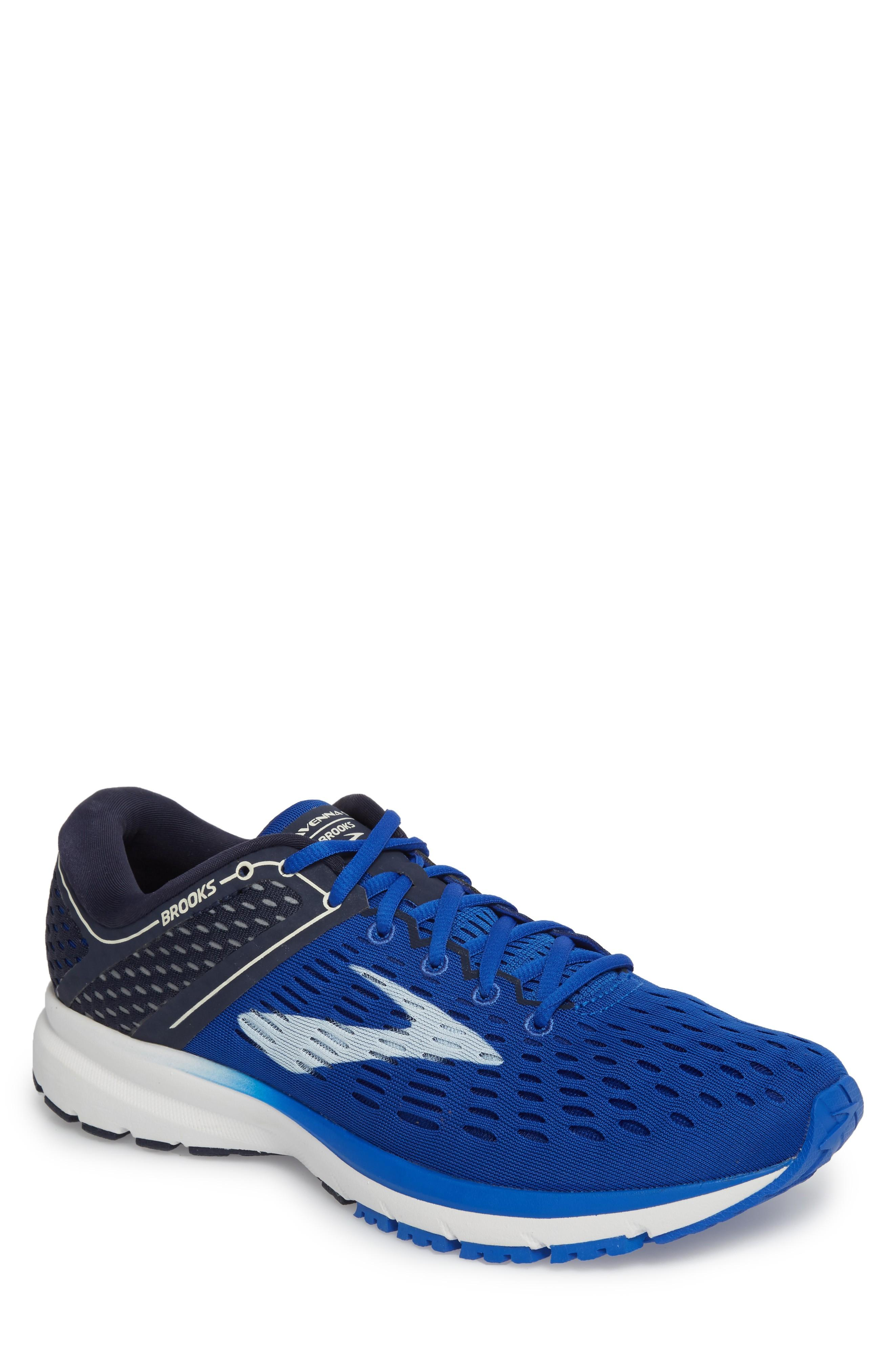 4c8a35b0aabbe Brooks Ravenna 9 Running Shoe In Blue  Navy  White