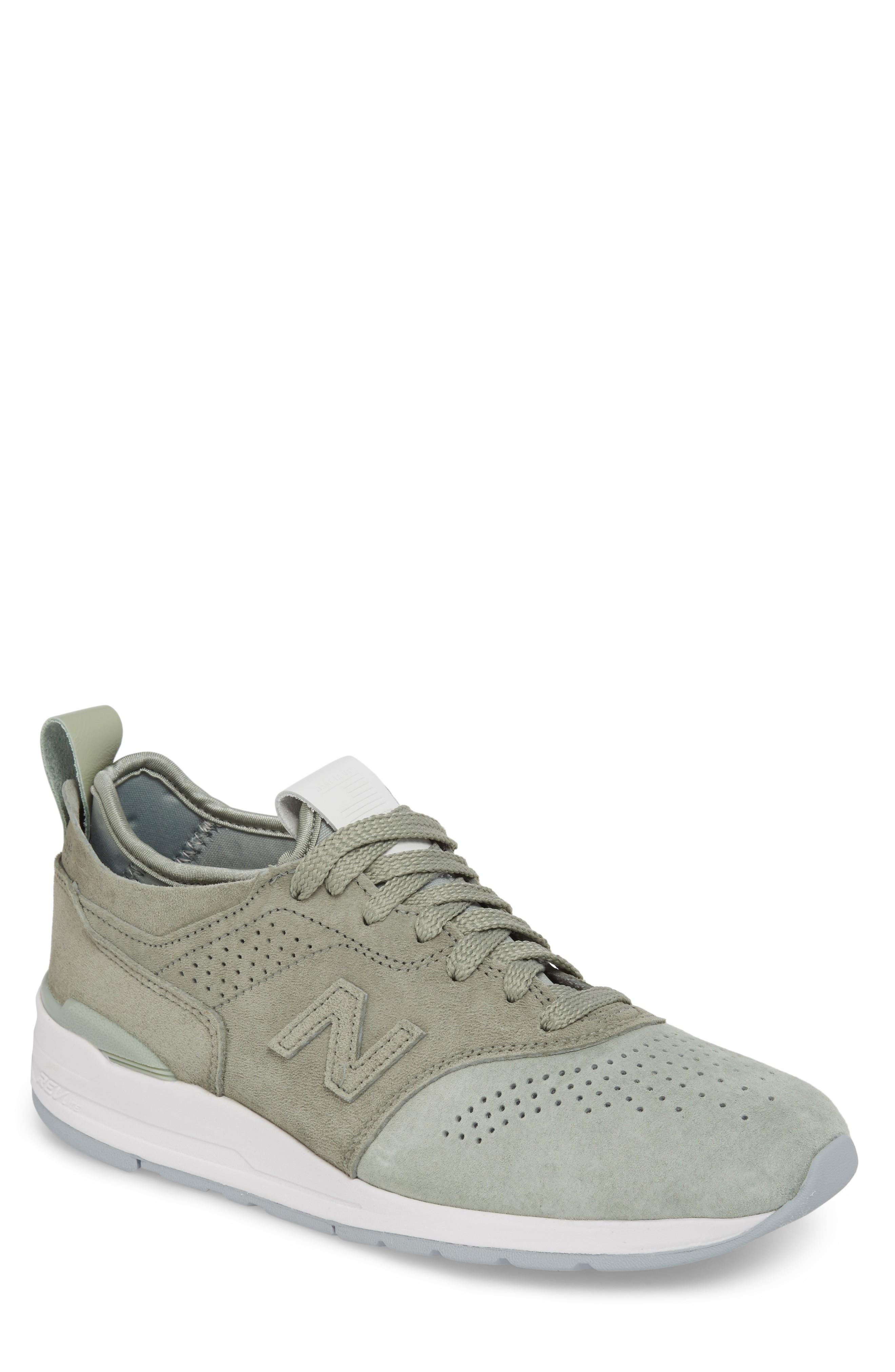 A veces a veces Parche espontáneo  New Balance 997r Perforated Sneaker In Silver Mint | ModeSens