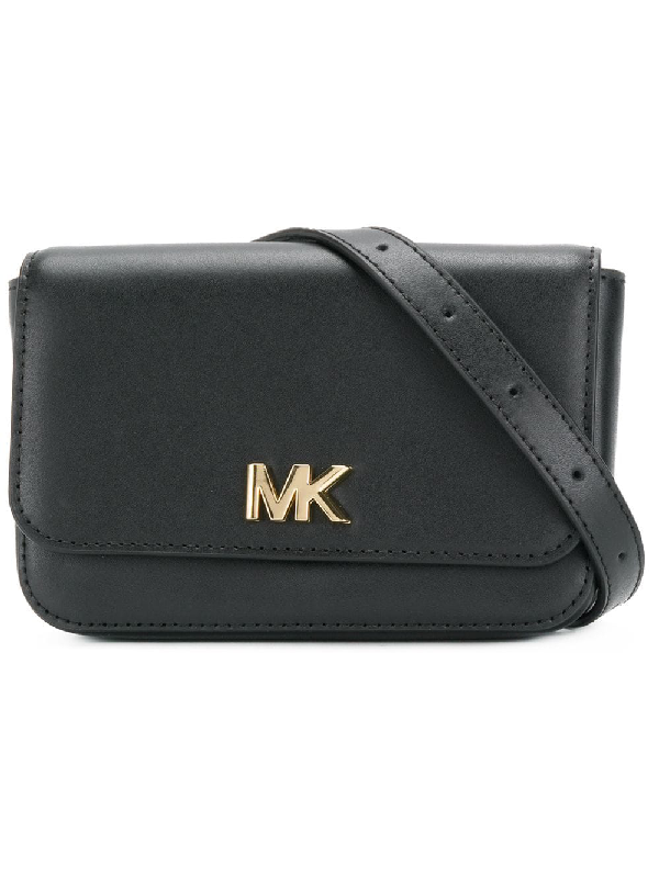 024d92f0bce210 Michael Kors Leather Belt Bag - Black | ModeSens