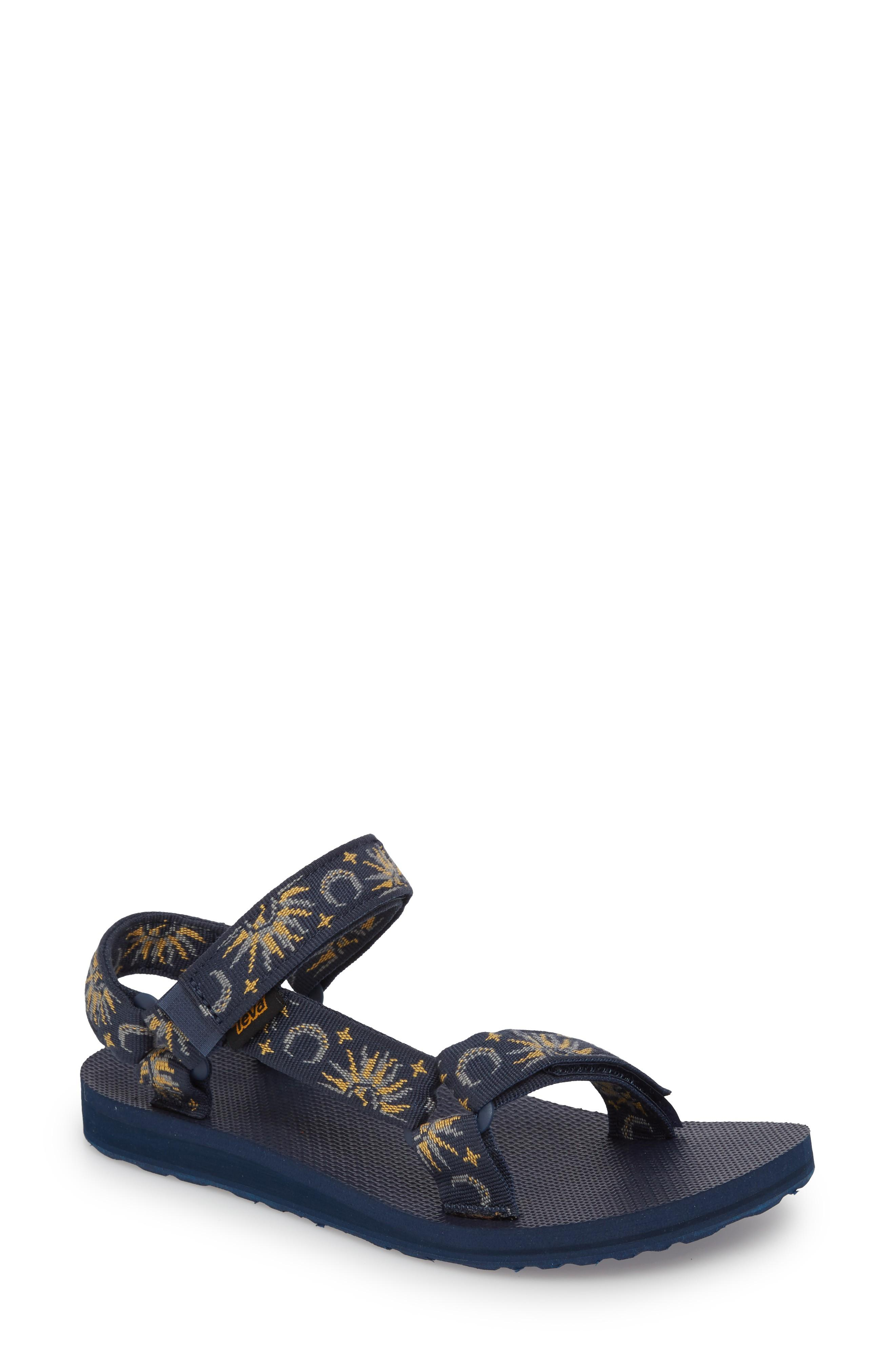 58d26f11121d22 Teva  Original Universal  Sandal In Sun And Moon Insignia Blue ...
