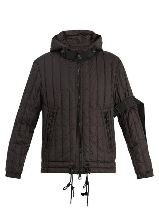 Moncler X Craig Green Banach Padded Jacket In Black