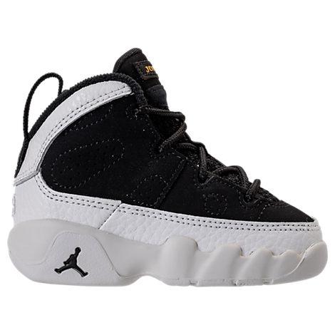 4bf28733e32 Nike Boys' Toddler Air Jordan Retro 9 Basketball Shoes, Black | ModeSens