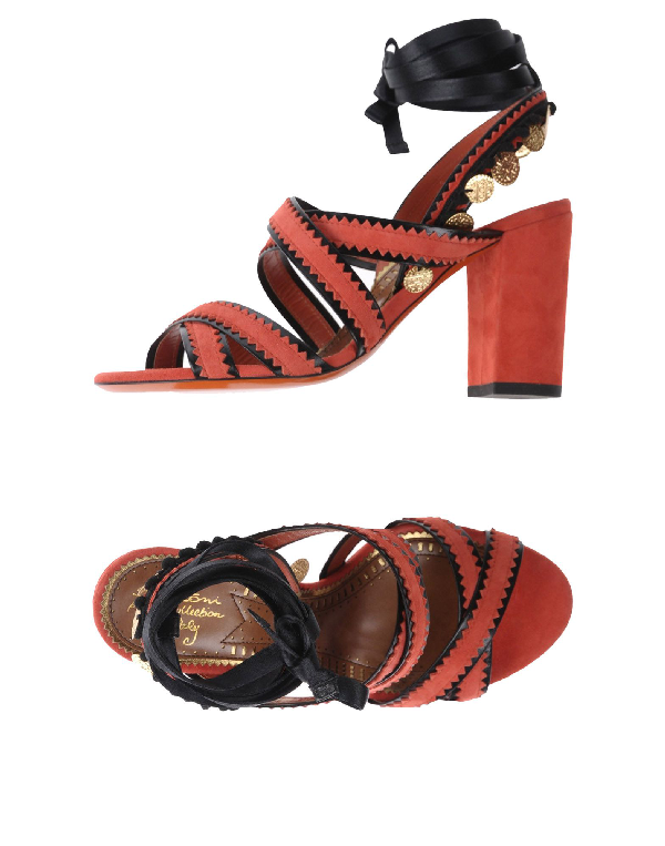 eb4234a94d3 Santoni Sandals In Red   ModeSens