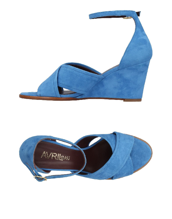 a8503b427f0d5 Avril Gau Sandals In Azure | ModeSens