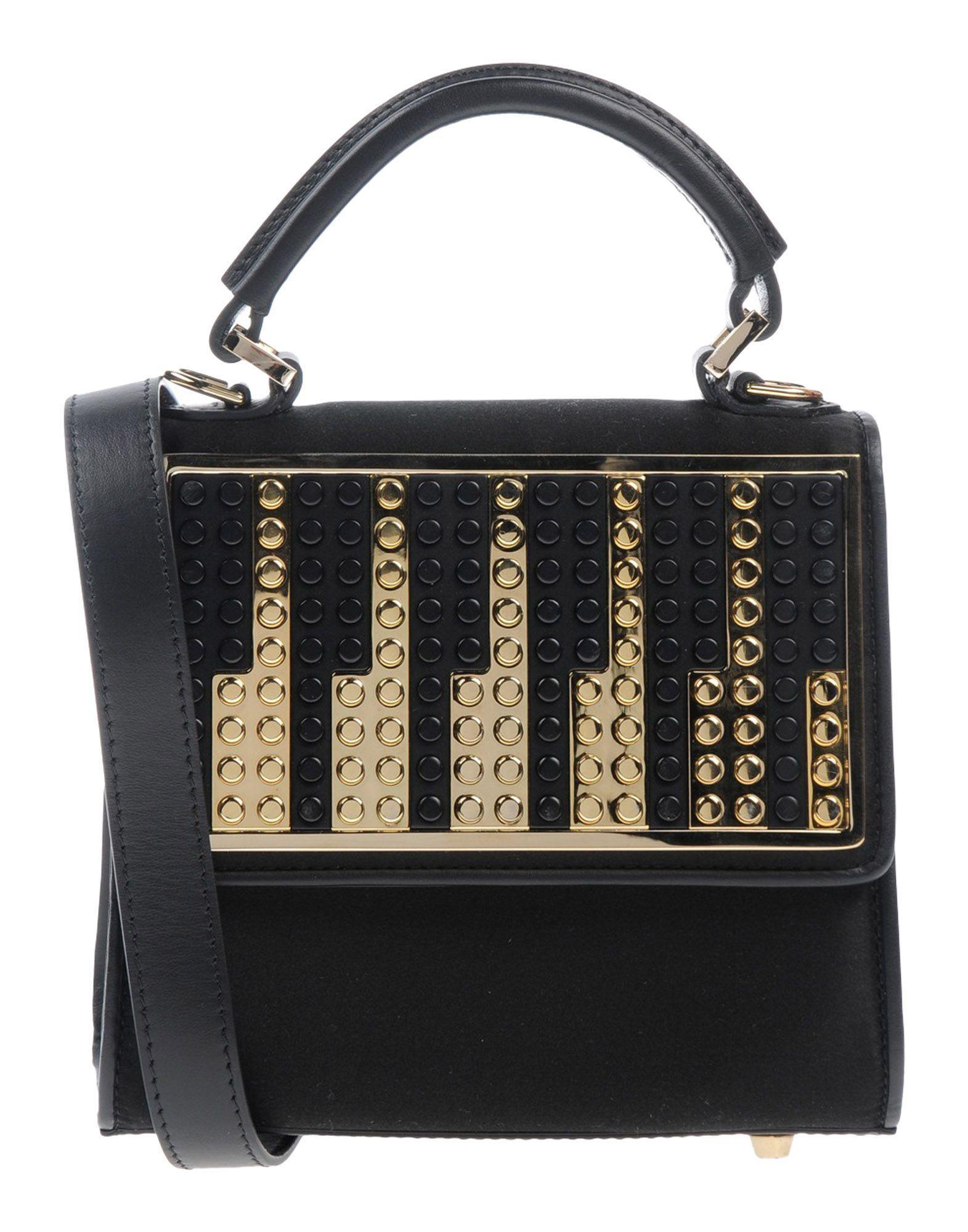 Les Petits Joueurs Handbag In Black