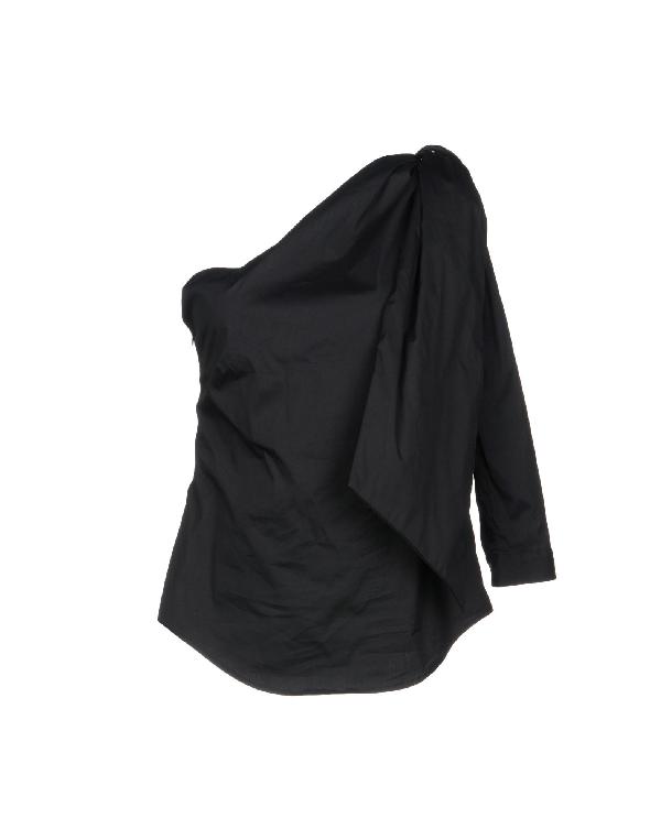 Sara Roka Blouse In Black