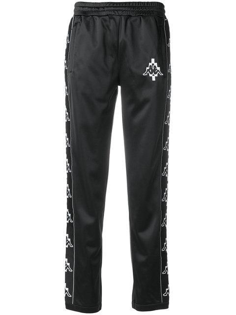 42763212447e9 Marcelo Burlon County Of Milan Kids X Kappa Jogginghose - Farfetch In Black