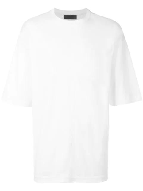 Diesel Black Gold Toona Cotton Tee Shirt In White