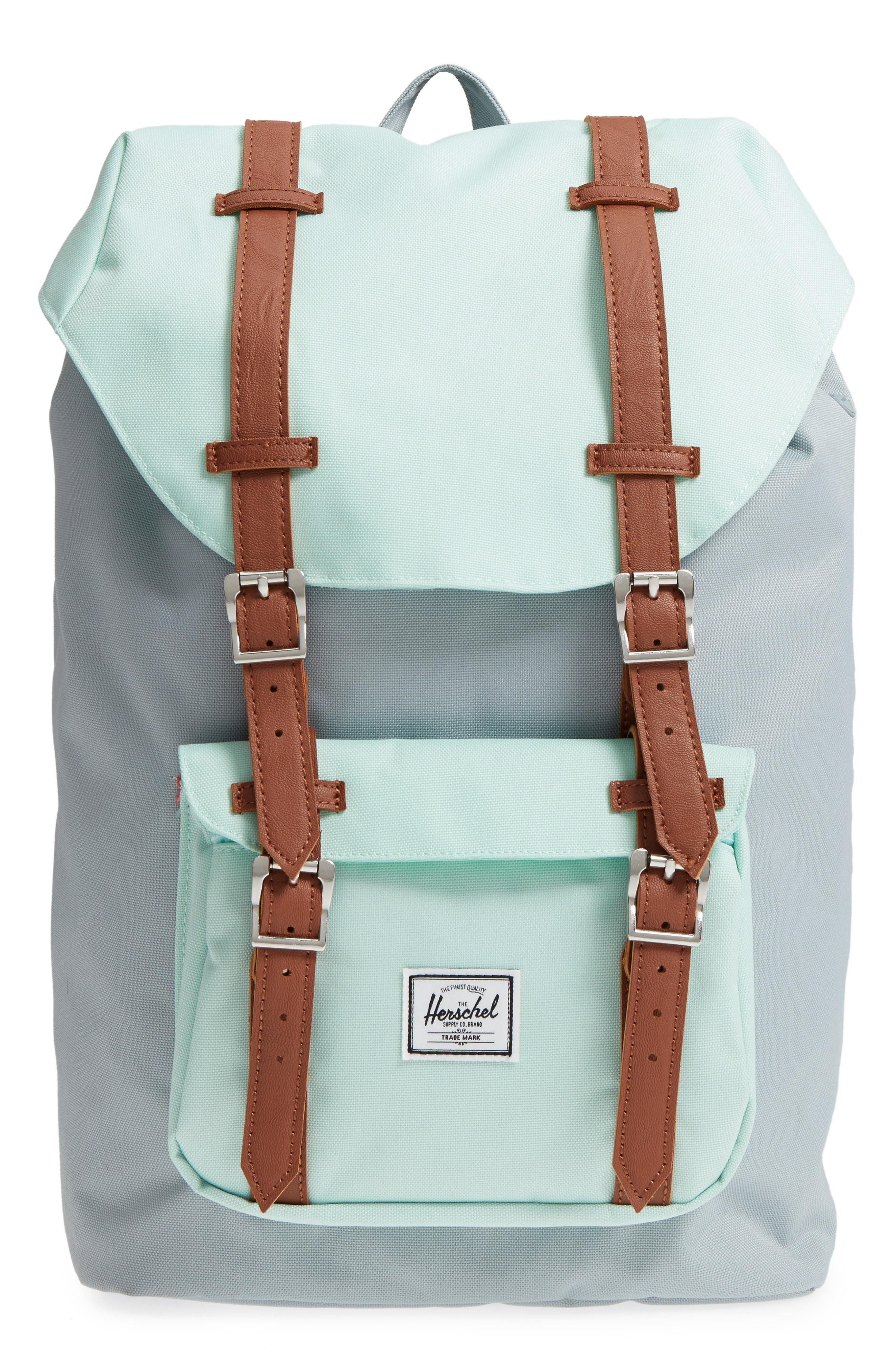 d20dc9afc7e Herschel Supply Co. Little America - Mid Volume Backpack - Grey In Quarry   Yuca