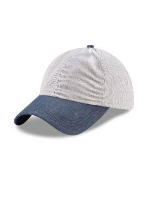 New Era Cotton Baseball Cap In White