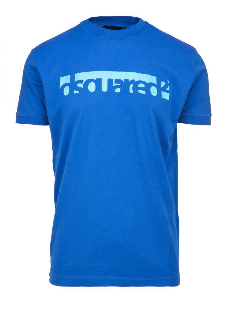 Dsquared2 Blue Logo T-Shirt