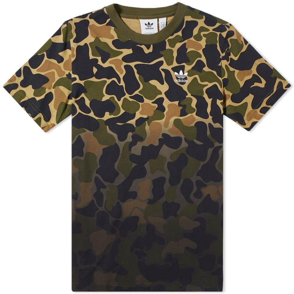 tee shirt camouflage adidas