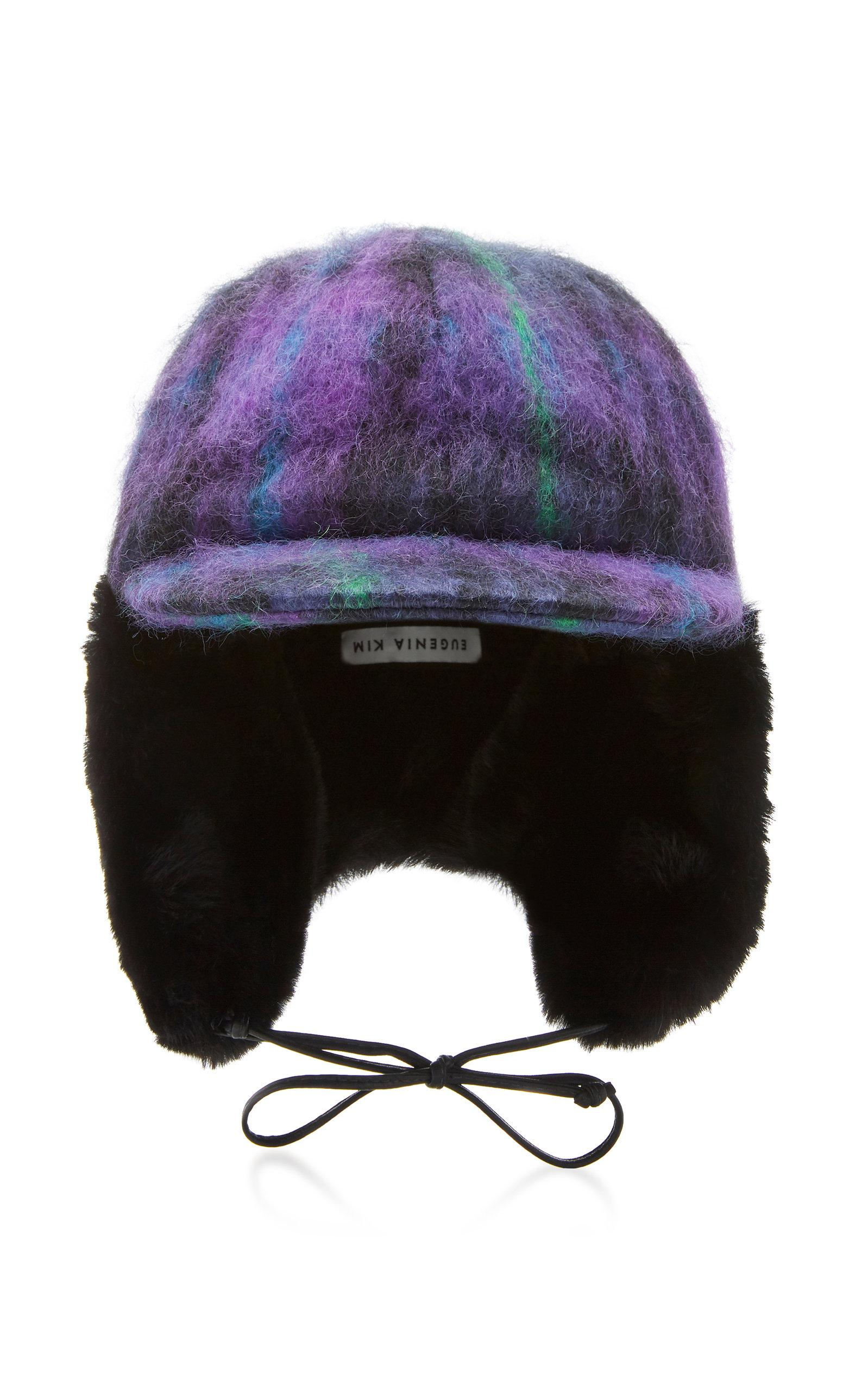 Eugenia Kim Sammy Trapper Hat In Purple  effe6954a1e