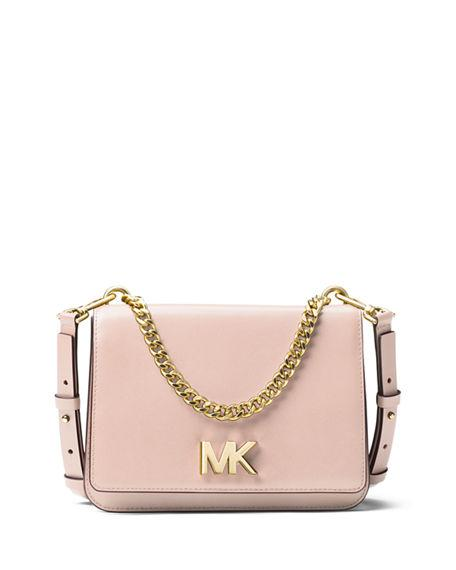 4225e734aa9b A streamlined shoulder bag with a gleaming logo turn lock and bold curb  chain is an easy way to add polished sophistication to your look.