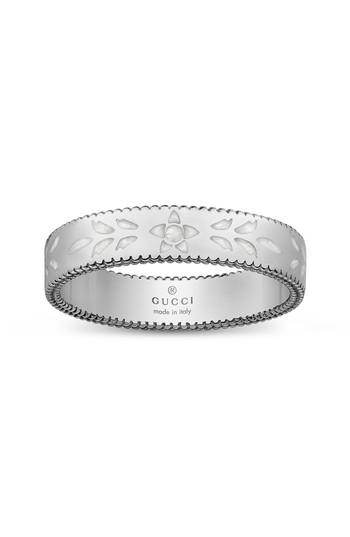 87faf0e44c6731 Gucci Icon Thin Band Ring In White Gold | ModeSens