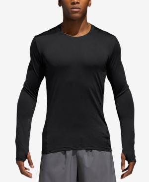 Adidas Originals Adidas Men's Tko Climalite Long-Sleeve T-Shirt In Black