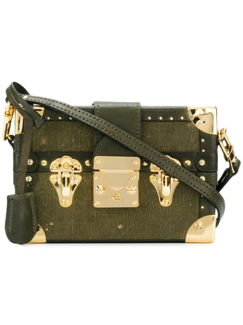 Readymade Studded Chest Mini Bag In Green 11