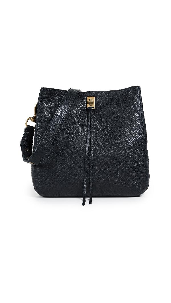 9ba439f51ebab6 Rebecca Minkoff Darren Shoulder Bag In Black | ModeSens