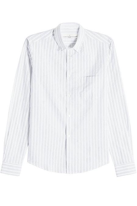 Golden Goose Striped Cotton Shirt In Stripes