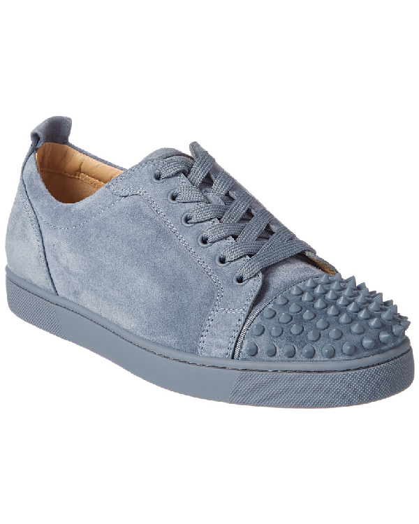 ae2661d3c90b Christian Louboutin Louis Junior Spikes Suede Sneaker In Nocolor ...