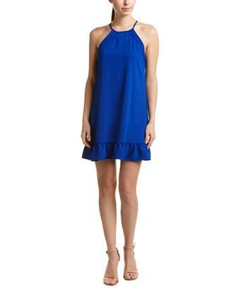 Amanda Uprichard Shift Dress In Blue
