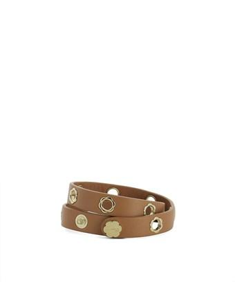 Salvatore Ferragamo Women S Brown Leather Bracelet