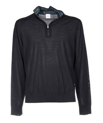 Paul Smith Men's  Black Wool Sweater