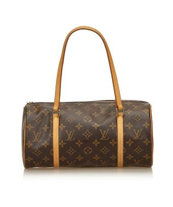 Louis Vuitton Pre-owned: Papillon Handbag Monogram Canvas 30 In Brown