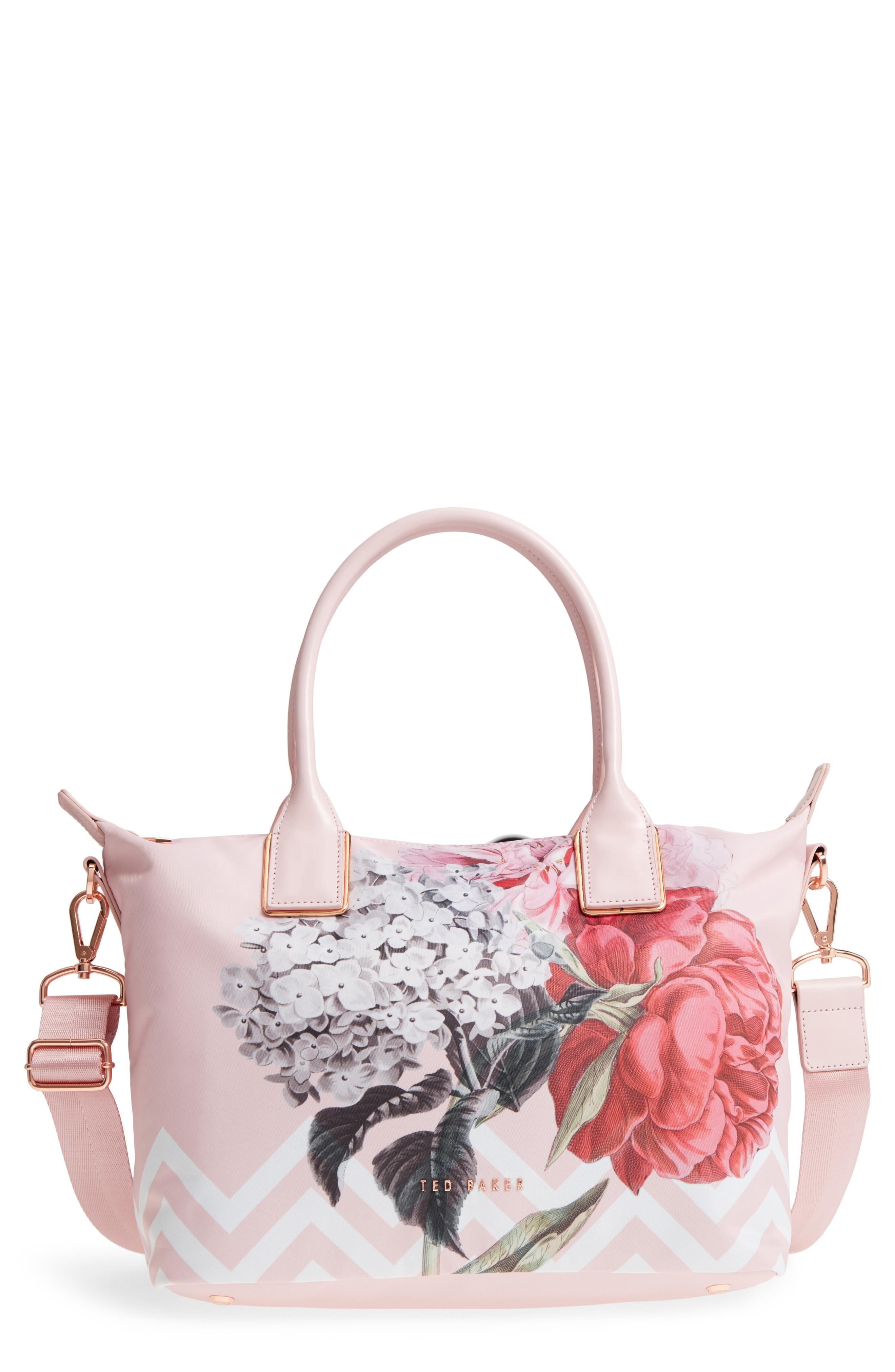 5340784dc Ted Baker Small Palace Gardens Tote - Pink In Dusky Pink