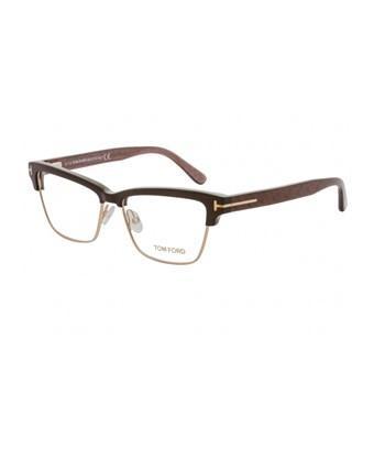 e19b9e0d1d Tom Ford Rectangular Eyeglasses Tf5364 048 Size  53Mm Pearl Brown Gold  Ft5364 In Shiny