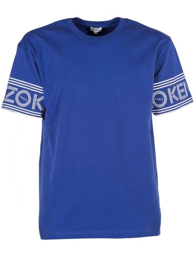 Kenzo Logo T-Shirt In 74Blue