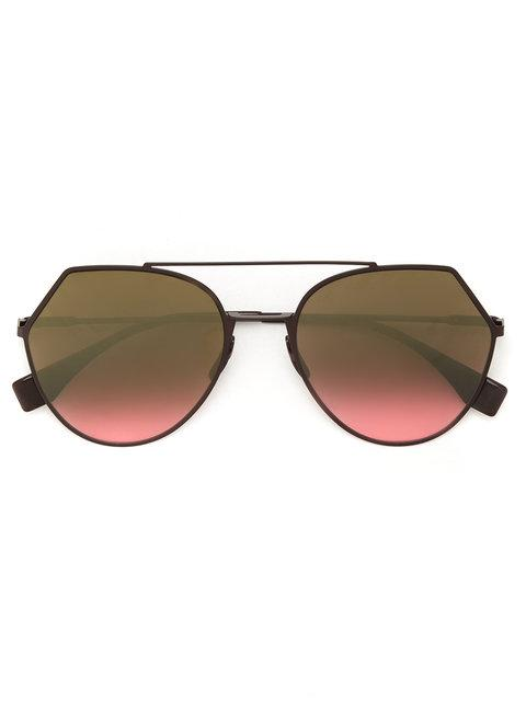 aa0d766118 These gold-toned metal Eyeshine sunglasses are a staple accessory piece and  feature aviator frames