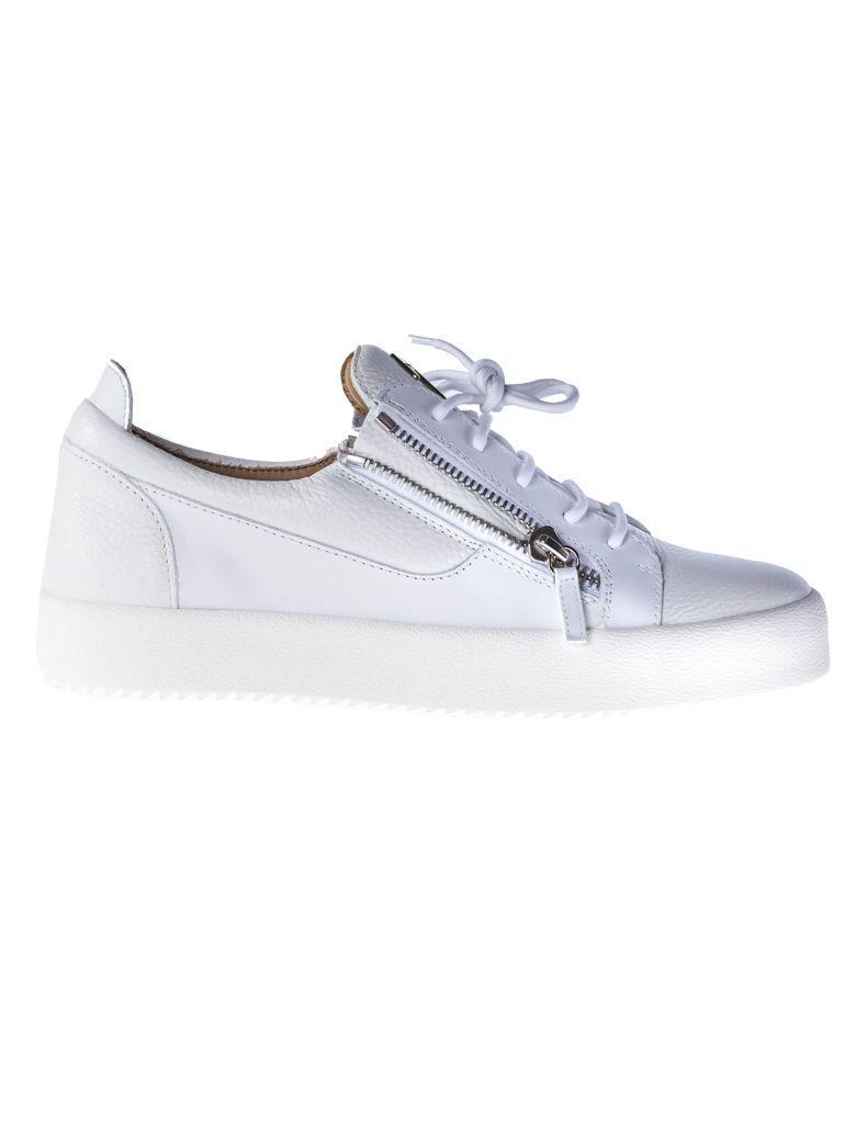 Giuseppe Zanotti Frankie Low-Top Sneakers In White