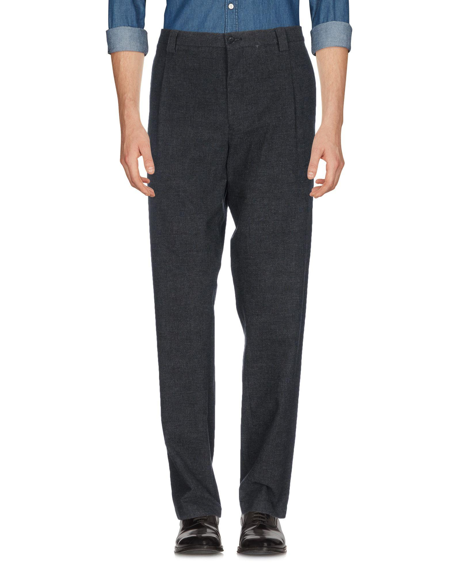 Ps By Paul Smith Casual Pants In Steel Grey