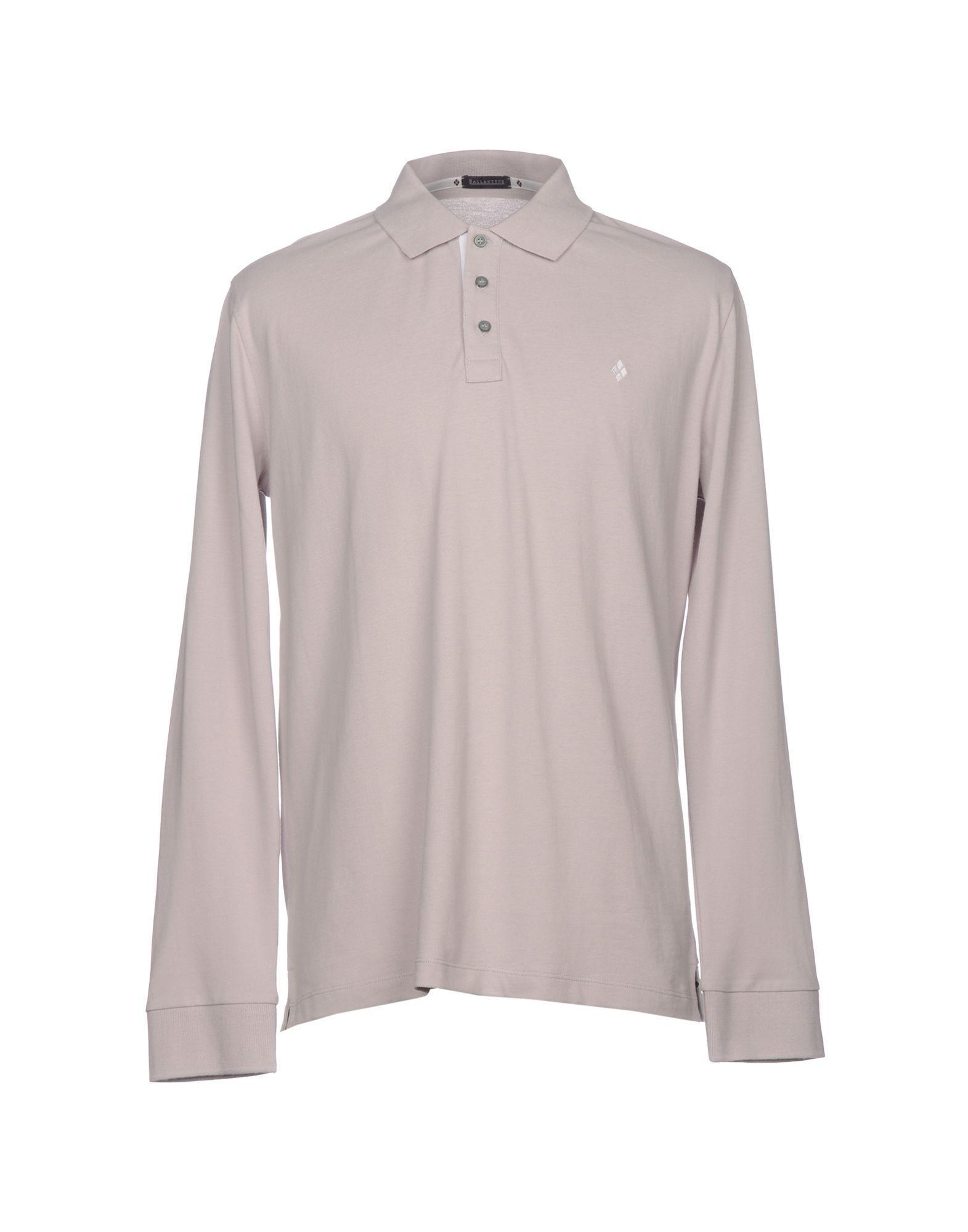 4ca00453a Ballantyne Polo Shirt In Light Grey